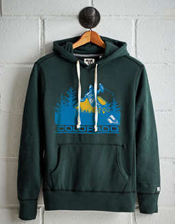 Tailgate Men's Ski Colorado Fleece Hoodie