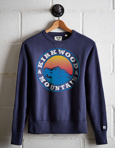 Tailgate Men's Ski Kirkwood Mountain Fleece Sweatshirt -