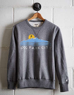 Tailgate Men's Ski Park City Fleece Sweatshirt