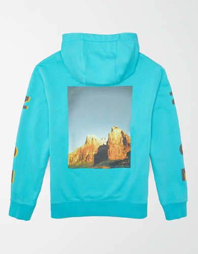 Tailgate Men's Zion National Park Hoodie