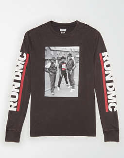 Tailgate Long Sleeve Run DMC Graphic T-Shirt
