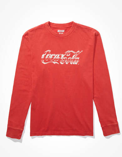 Tailgate Men's Coca-Cola Long-Sleeve T-Shirt