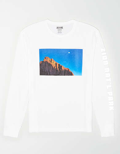 Tailgate Men's Zion National Park Reflective T-Shirt
