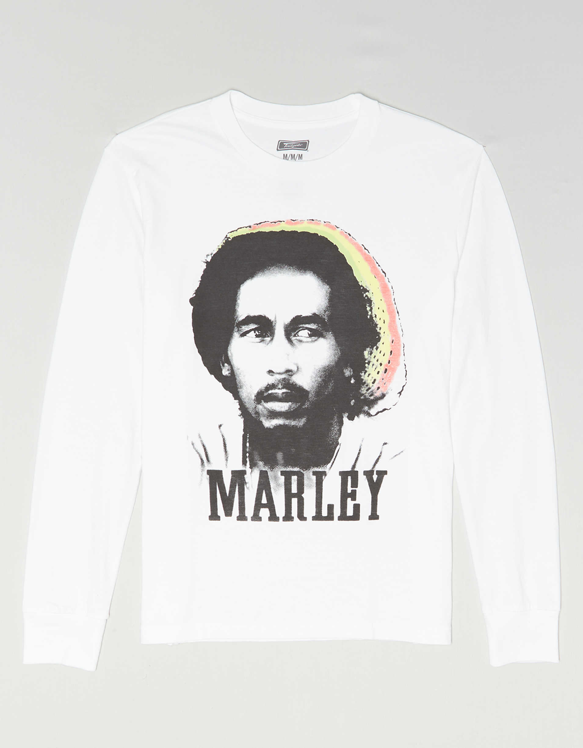 Tailgate Men's Bob Marley Long Sleeve Graphic T-Shirt