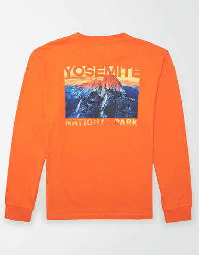 Tailgate Men's Yosemite National Park Long Sleeve T-Shirt