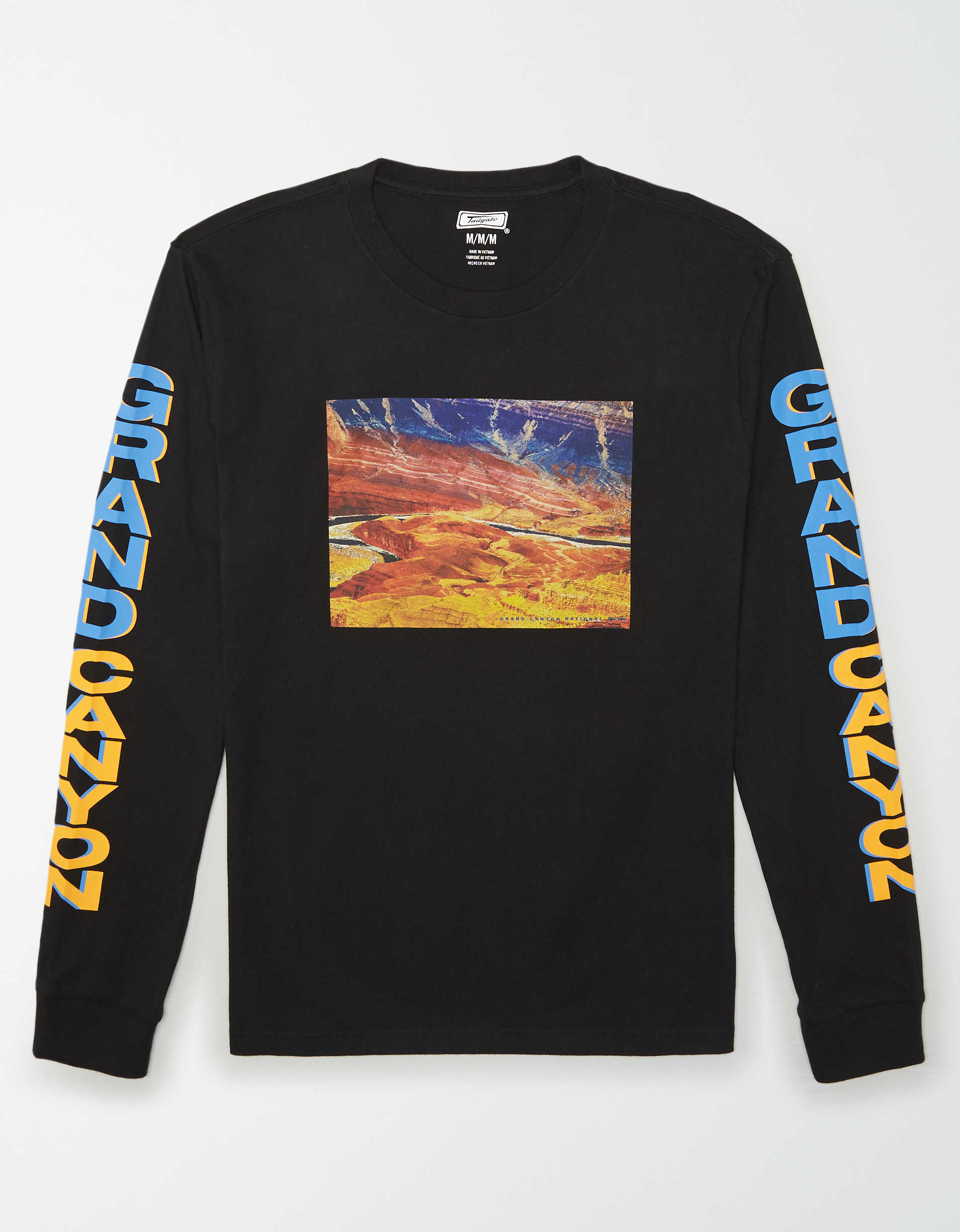 Tailgate Men's Grand Canyon National Park Long Sleeve T-Shirt