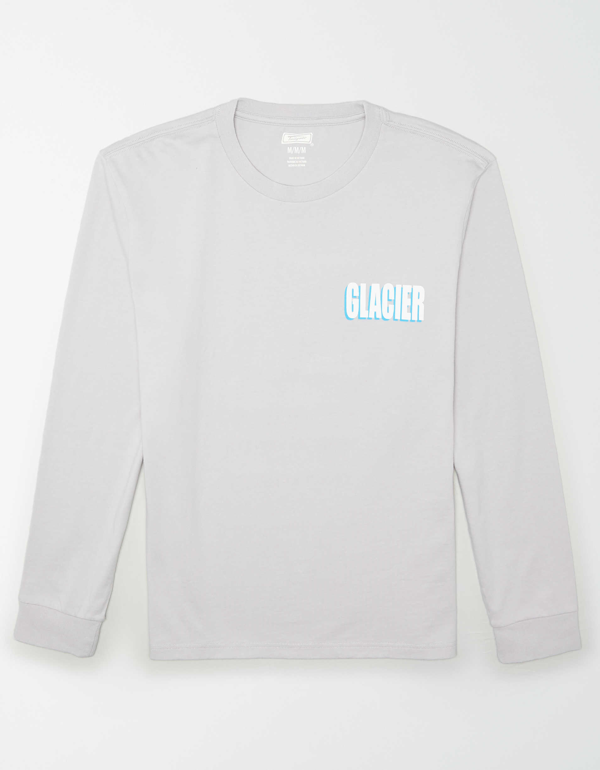 Glacier National Park Vintage Mens V-Neck T Shirt