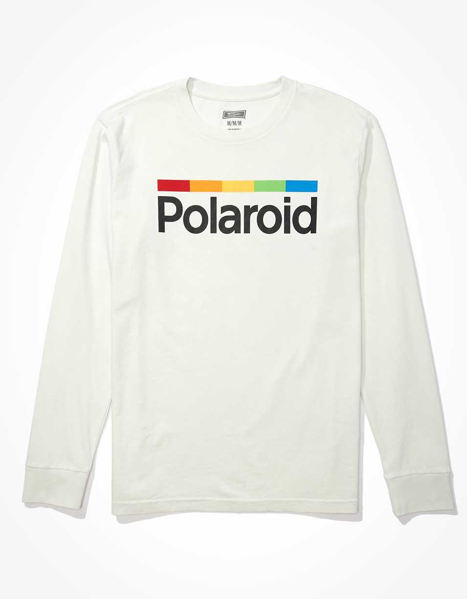 Tailgate Men's Long-Sleeve Polaroid Graphic T-Shirt