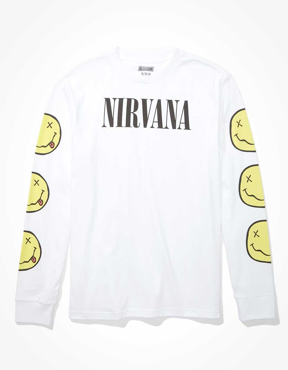 Tailgate Men's Nirvana Long Sleeve Graphic T-Shirt