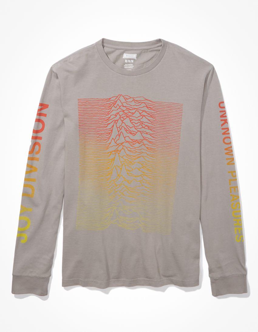 Tailgate Men's Joy Division Long-Sleeve Graphic T-Shirt