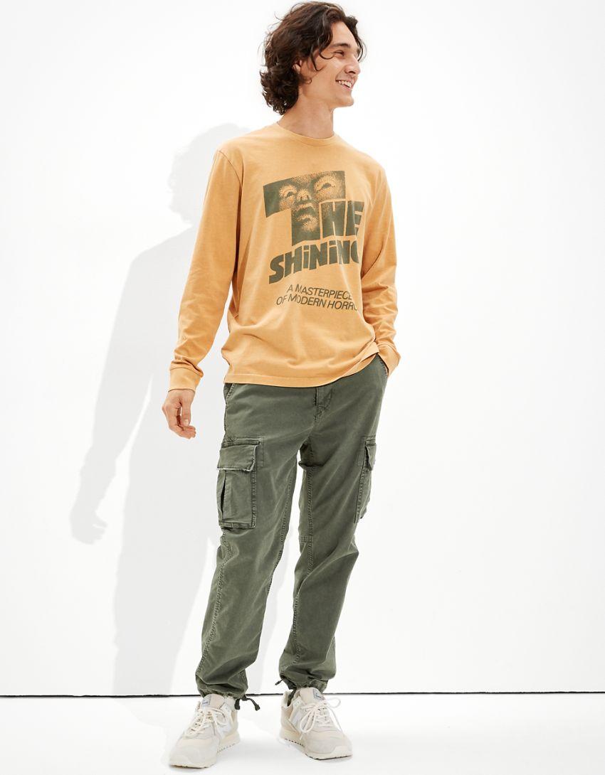Tailgate Men's The Shining Long-Sleeve Graphic T-Shirt
