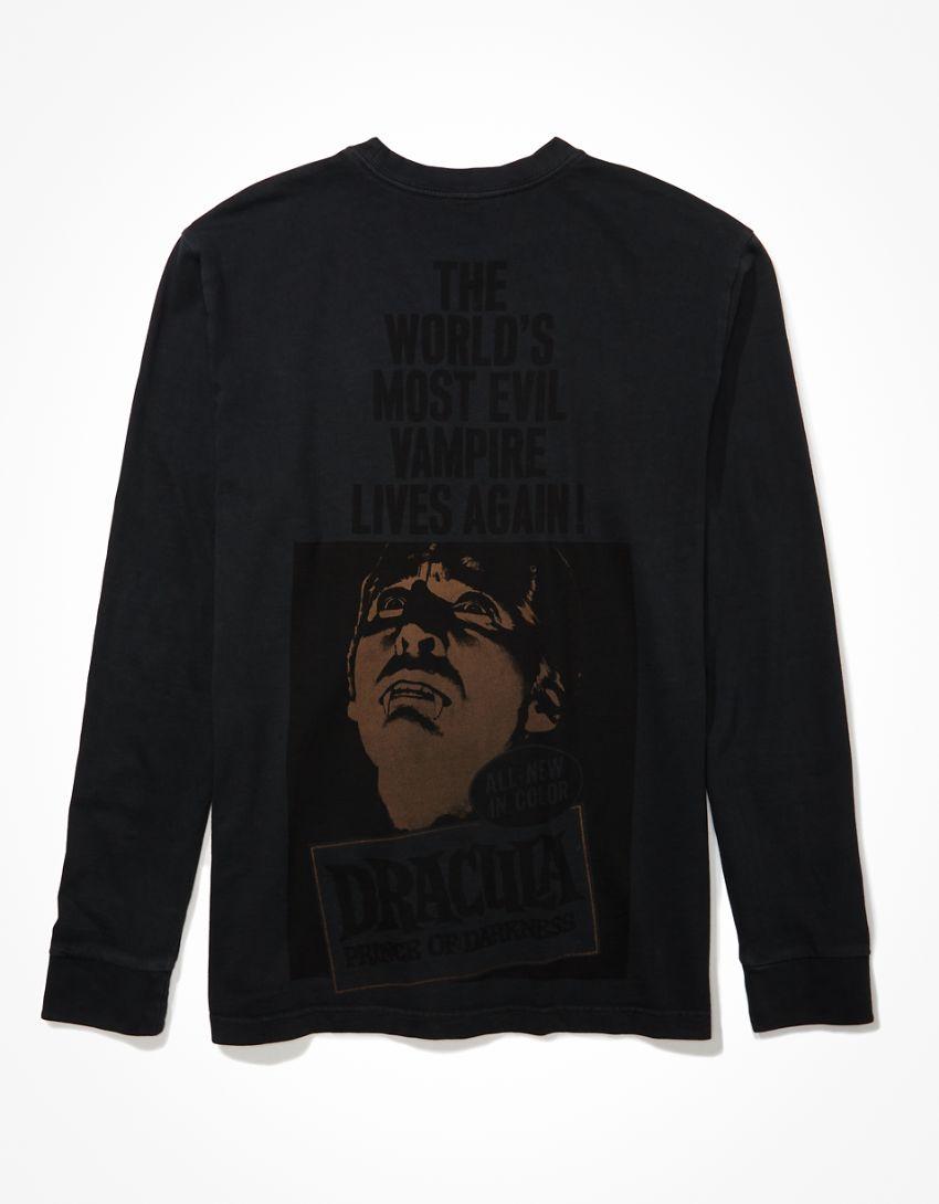 Tailgate Men's Dracula Long-Sleeve Graphic T-Shirt
