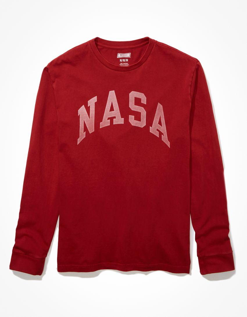 Tailgate Men's NASA Long-Sleeve Graphic T-Shirt