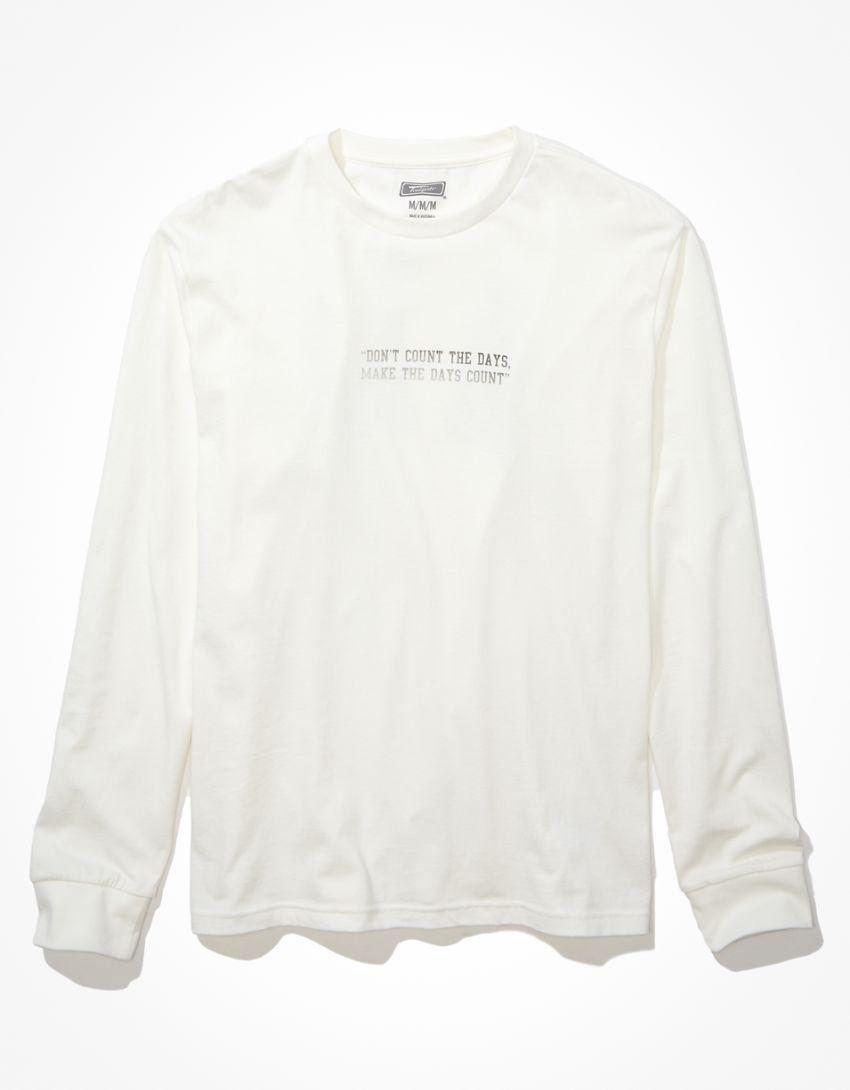 Tailgate Men's Muhammad Ali Long-Sleeve Graphic T-Shirt