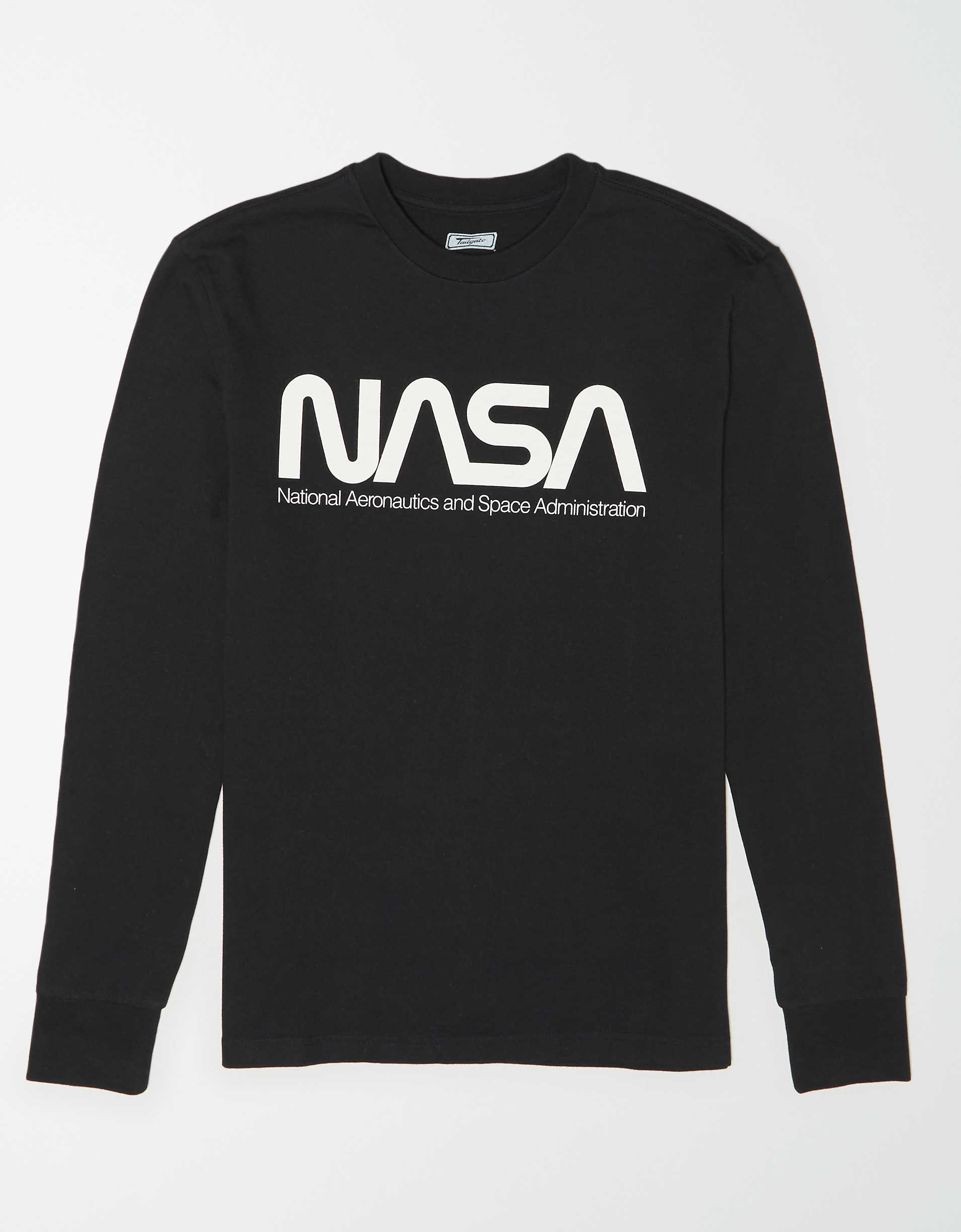Tailgate Men's NASA Long Sleeve Graphic T-Shirt