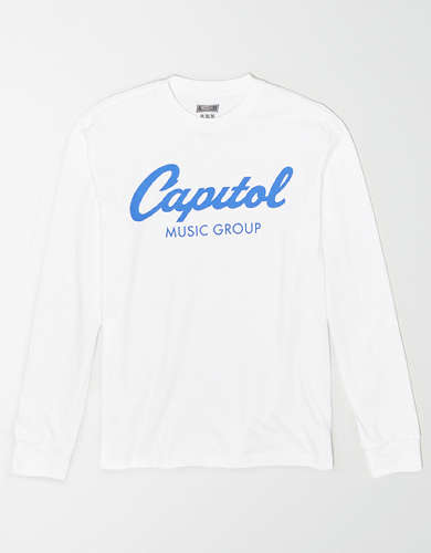 Tailgate Men's Capitol Records Long-Sleeve T-Shirt