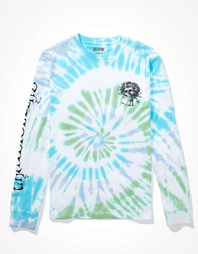 Tailgate Men's Grateful Dead Long-Sleeve Tie-Dye T-Shirt