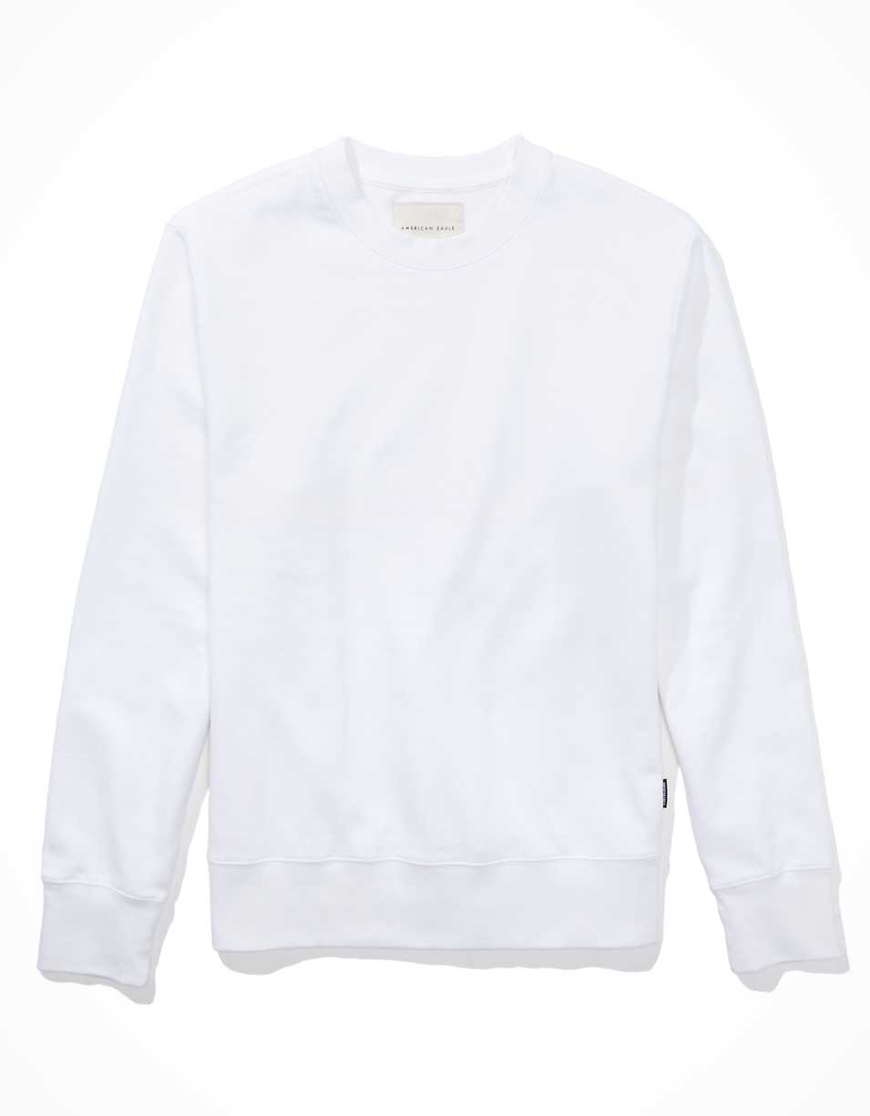 AE Super Soft Fleece Icon Crew Neck Sweatshirt