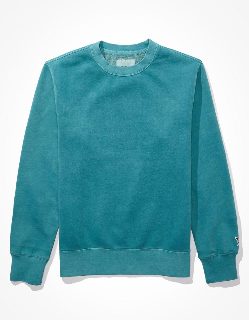 AE Super Soft Fleece Icon Crew Neck Sweatshirt