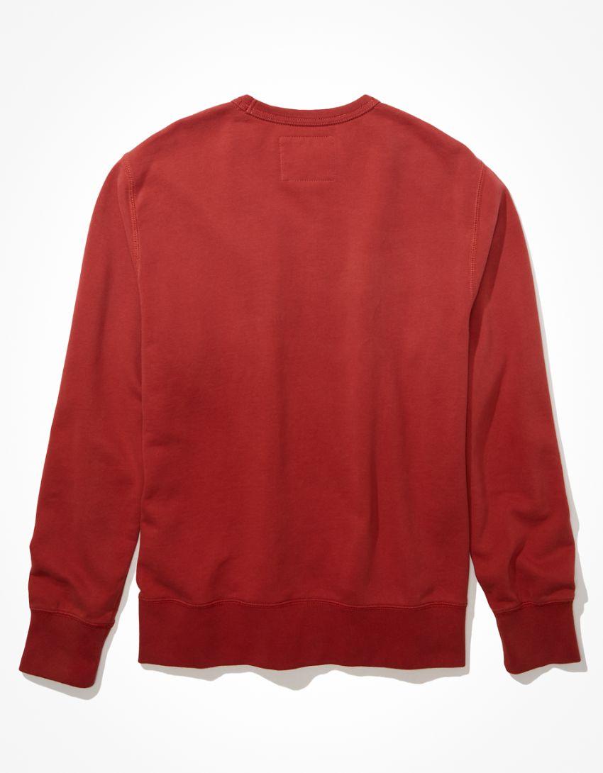 AE Super Soft Fleece Graphic Crew Neck Sweatshirt