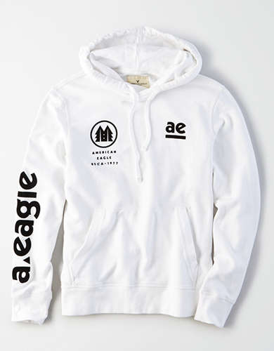 AE Ultra-Soft Graphic Pullover Hoodie -
