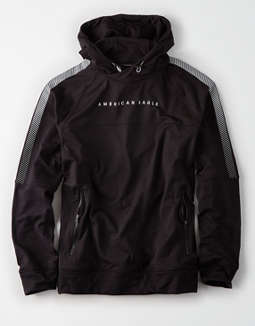 Ae Reflective Popover Hoodie by American Eagle Outfitters