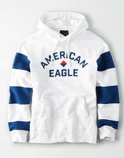 AE Color Block Fleece Pullover Hoodie