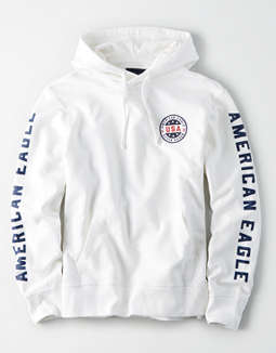 AE Patch Graphic Pullover Hoodie