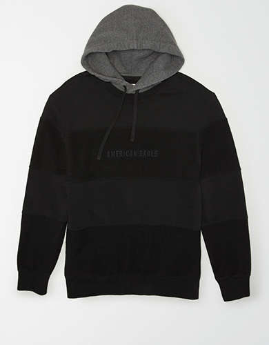 AE Drop-Shoulder Reverse Fleece Hoodie