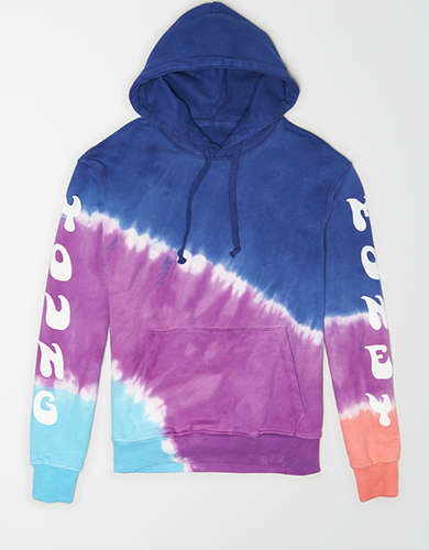 AE X Young Money Tie-Dye Drop-Shoulder Hoodie