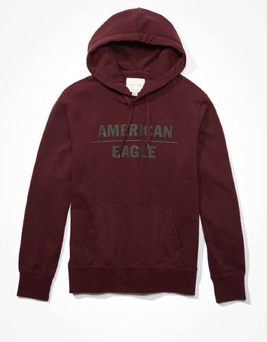 AE Super Soft Graphic Fleece Hoodie