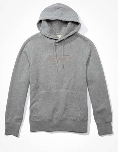 AE Graphic Heathered Fleece Hoodie