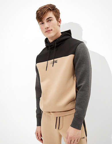 AE Active 24/7 Color Block Hoodie