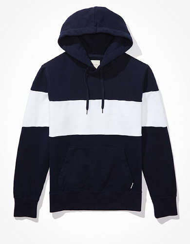 AE Vintage Fleece Color-Block Hoodie