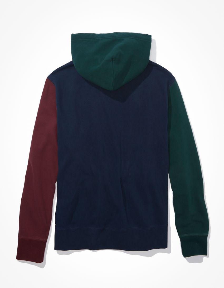 AE Super Soft Fleece Color-Block Hoodie