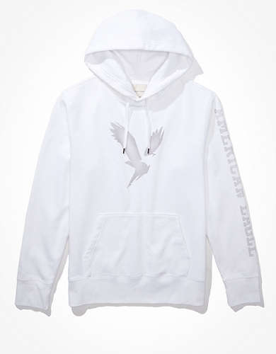 AE Super Soft Fleece Eagle Graphic Hoodie