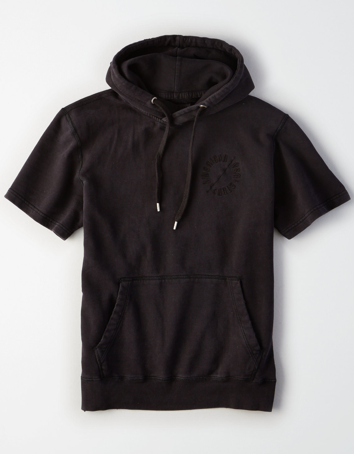 AE Lived & Loved Short Sleeve Hoodie. Placeholder image. Product Image