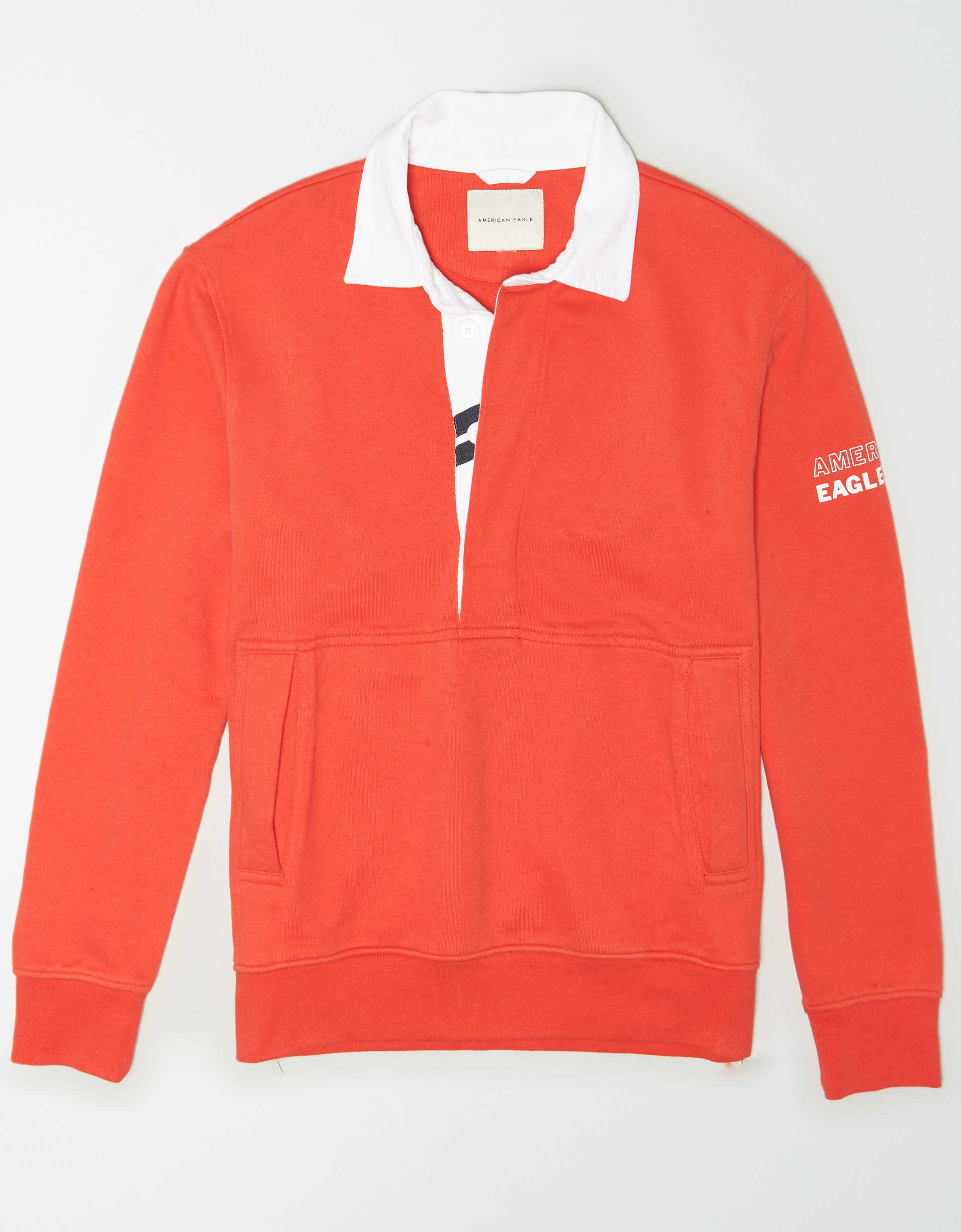 AE Fleece Graphic Rugby Sweatshirt