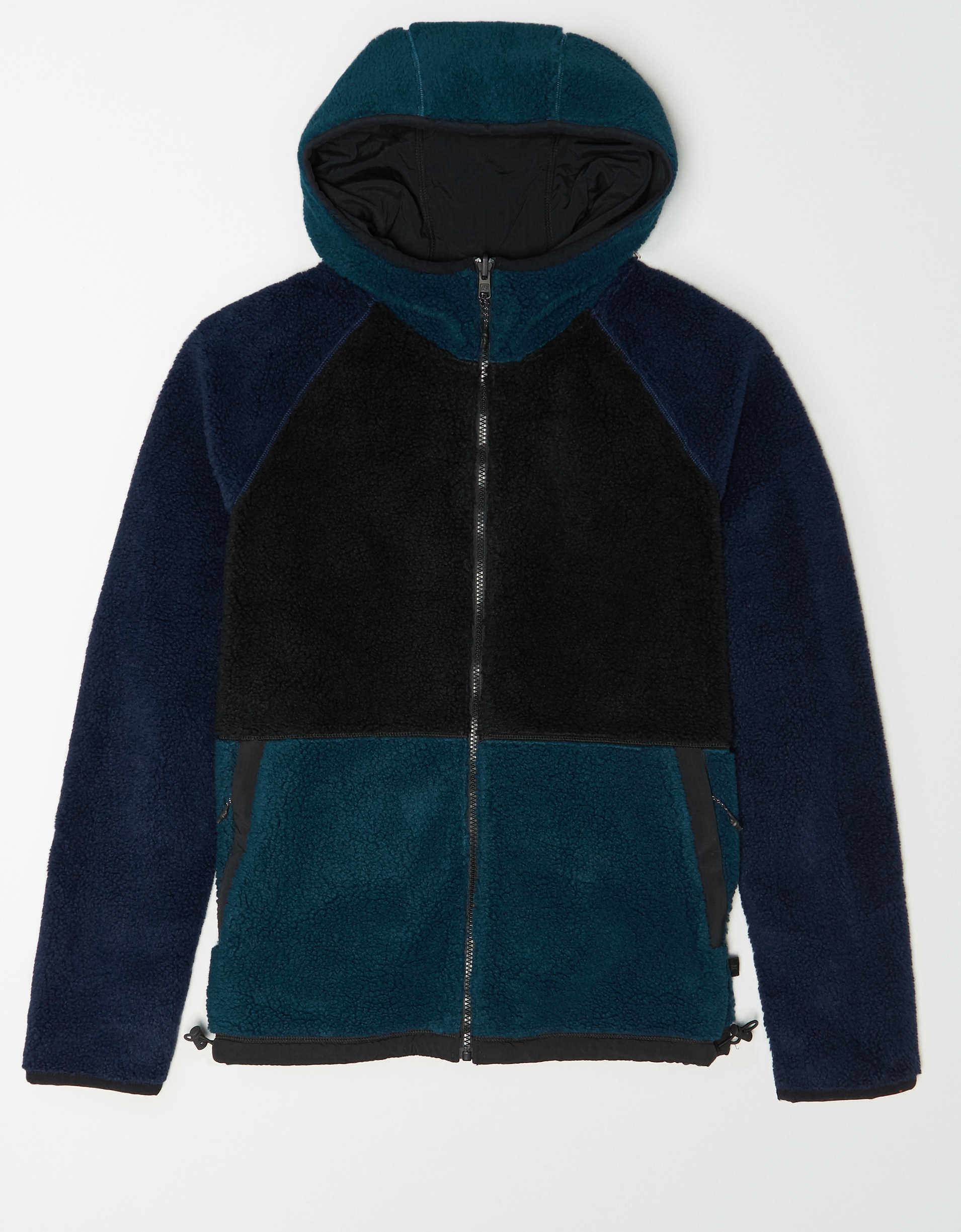 AE Reversible Sherpa Zip-Up Jacket