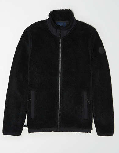 AE Zip-Up Sherpa Jacket