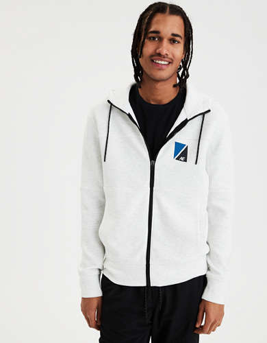 AE Lightweight Fleece Zip-Up Hoodie