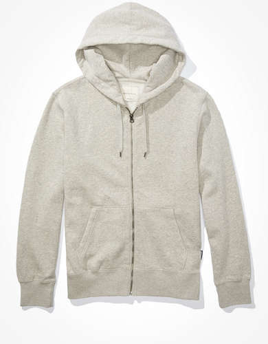 AE Super Soft Fleece Icon Zip-Up Hoodie