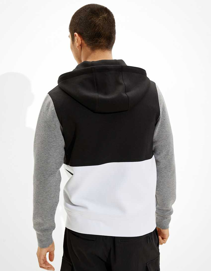 AE Active 24/7 Color-Block Zip-Up Hoodie