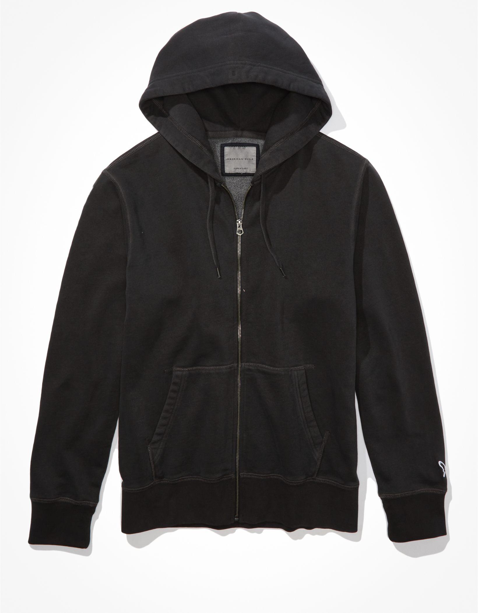 AE Super Soft Fleece Icon Zip-Up Hoodie