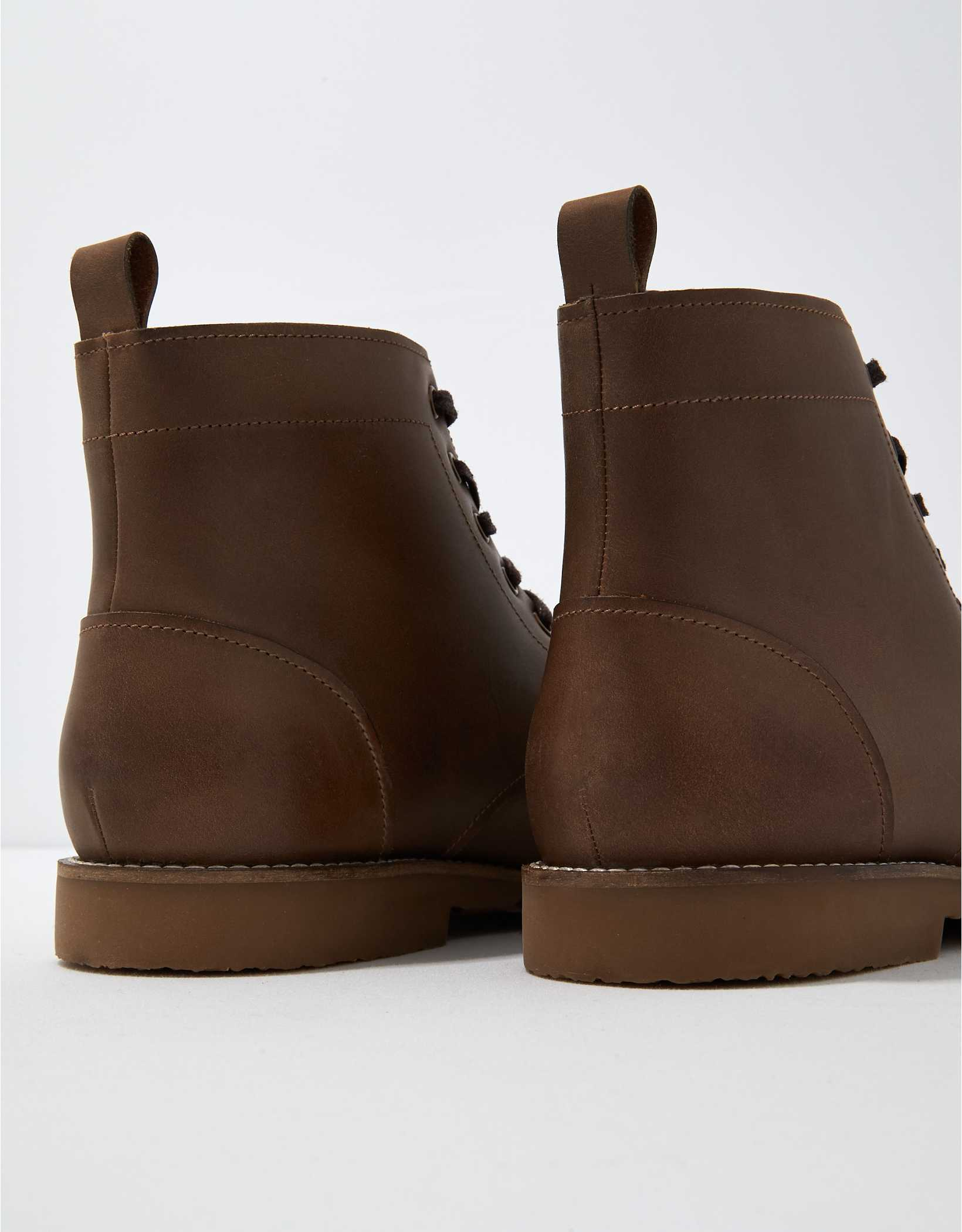 AE Lace-Up Leather Boot