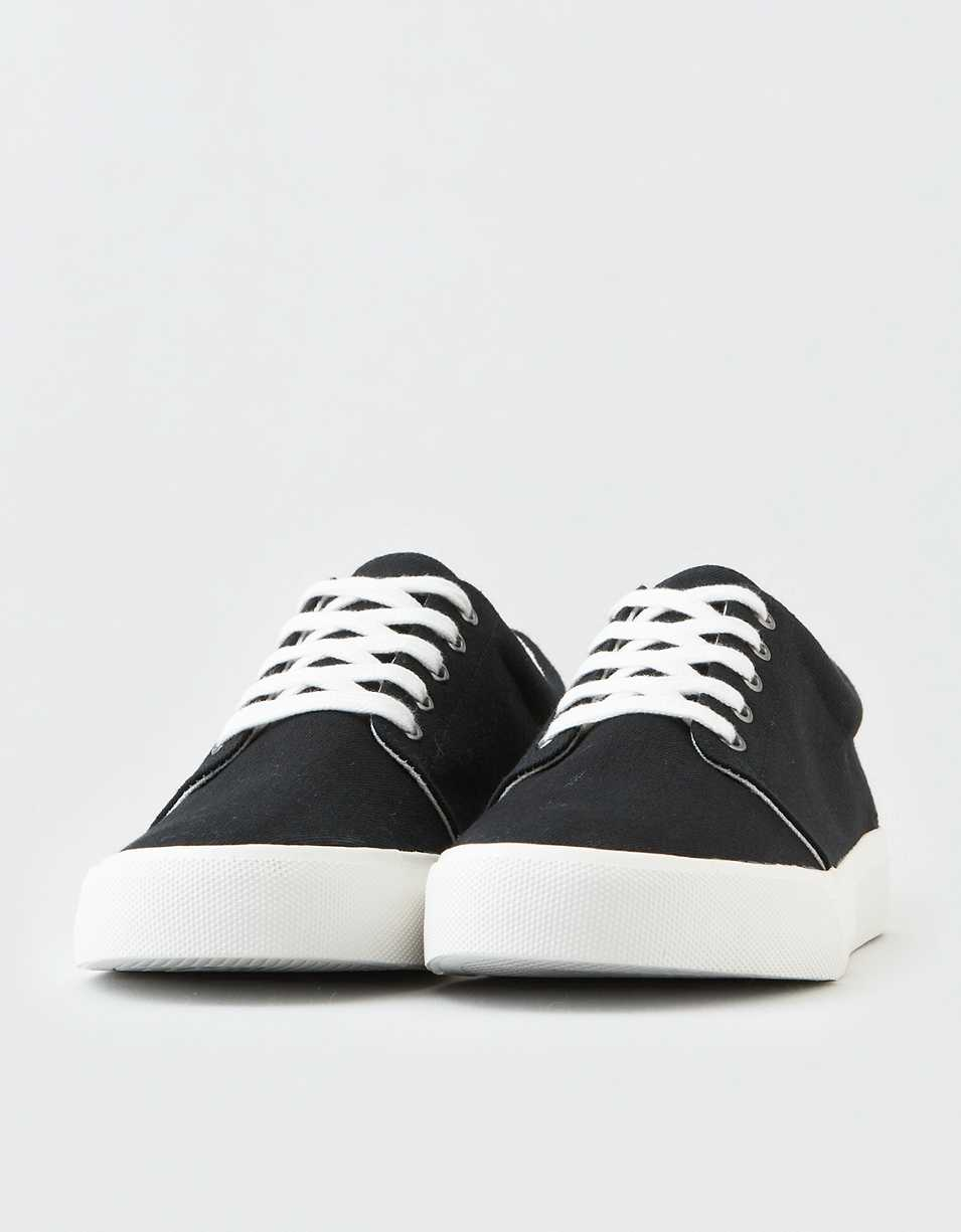 AE Men's Canvas Low Top Sneaker