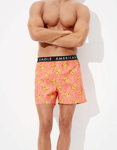 AEO Pizza Melt Stretch Boxer Short