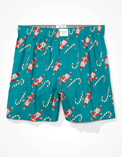 AEO Xmas Robot Stretch Boxer Short
