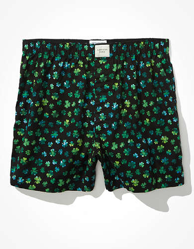 AEO Fun Clovers Stretch Boxer Short