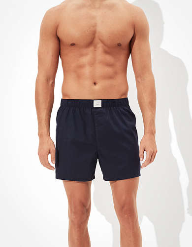 AEO Navy Stretch Boxer Short